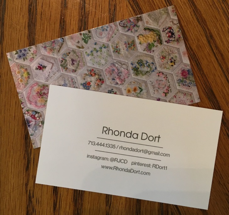 October 2016 rhonda dort business cards shes the best a big shout out to moo they printed and shipped with alarming speed image colourmoves Image collections