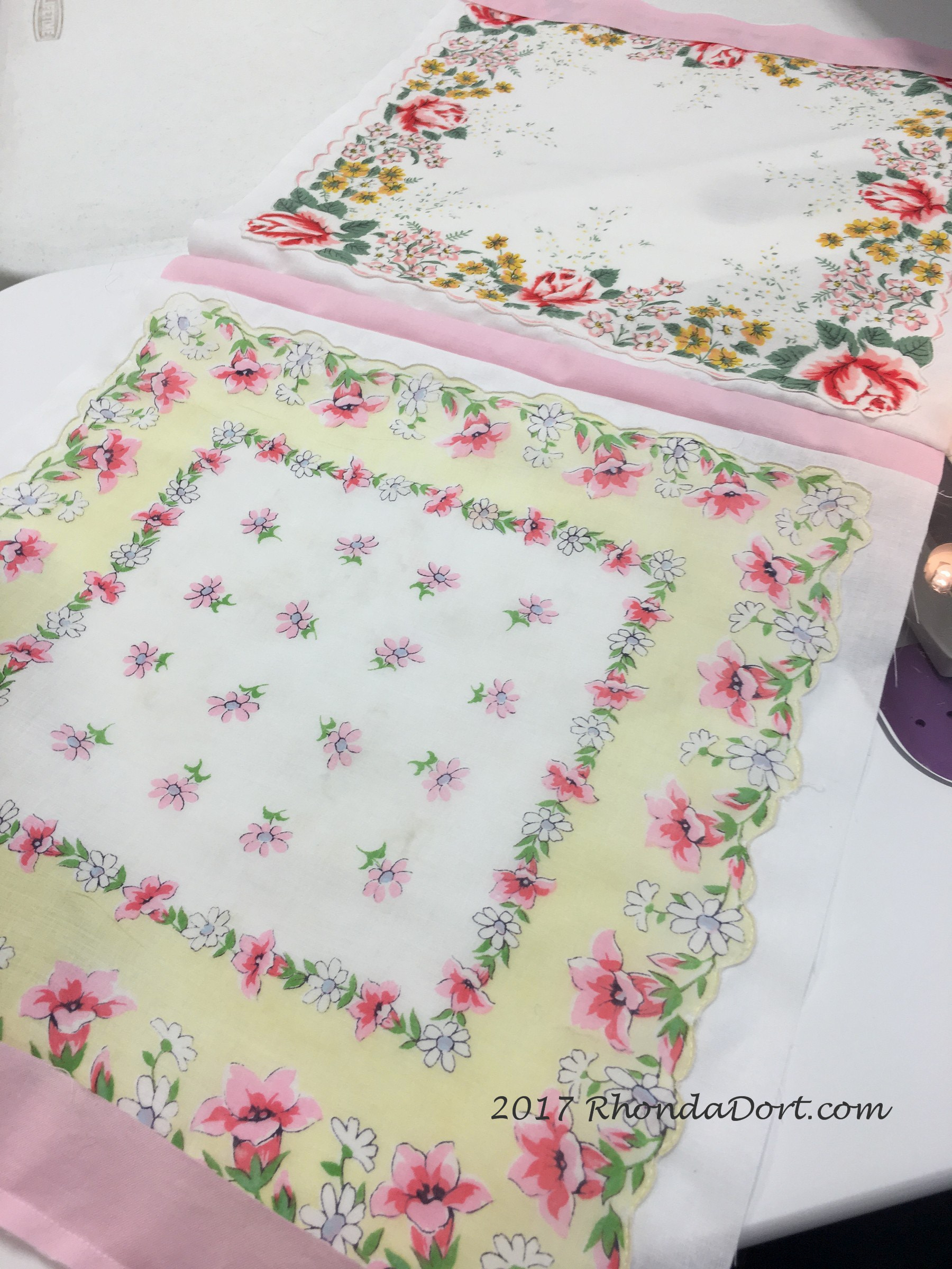 so you want to make a handkerchief quilt there are so many different ways to use all those beautiful vintage hankies youve been collecting